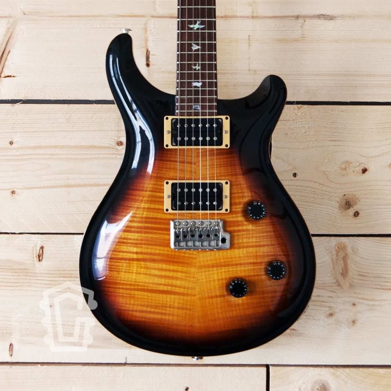 PRS Custom 24 Tobacco Burst