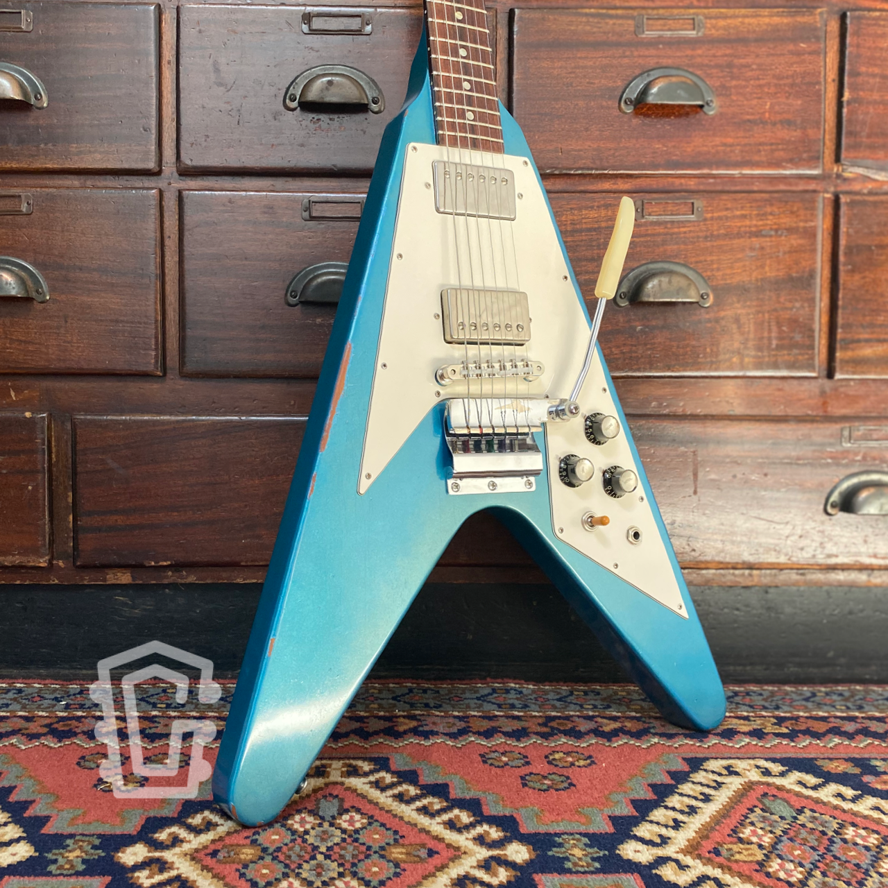 Gibson Flying V Pelham Blue
